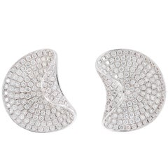 Diamonds White Gold Earrings