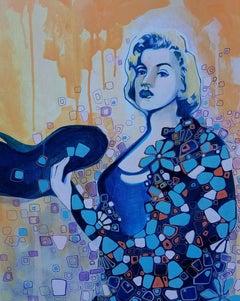 Woman With Attitude, Original Painting