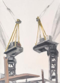 Two Cranes, with Platform