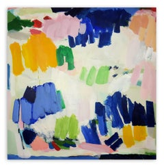 Coloured Party (Abstract painting)