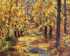 Autumn, Painting, Oil on Canvas