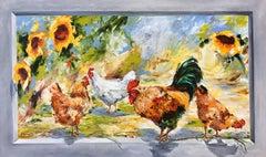 Matinée à la campagne, Painting, Oil on Canvas