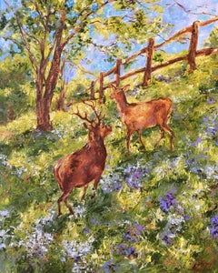 Spring Morning, Painting, Oil on Canvas