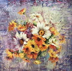 Summer Bouquet, Painting, Oil on Canvas