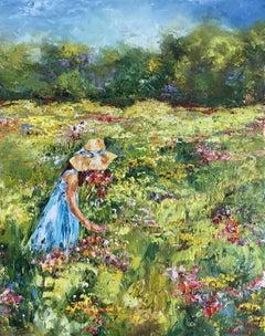Summer Mood, Painting, Oil on Canvas