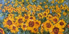 Tournesols, Painting, Oil on Canvas