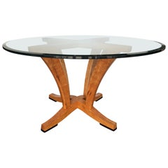 Diana Pedestal Table by Anthony Kahn