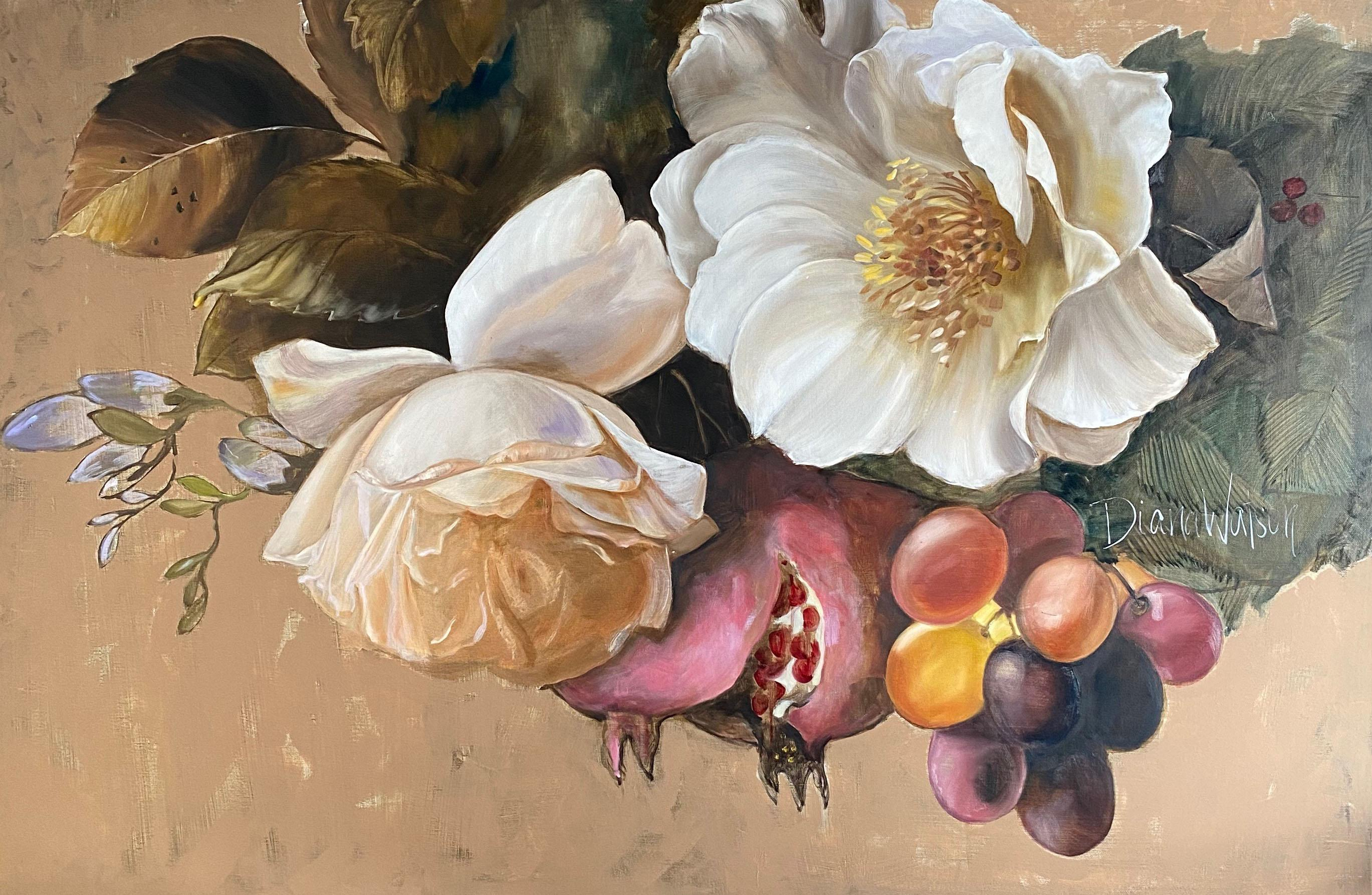 'Angelica', 2020, Contemporary still life on oil on linen