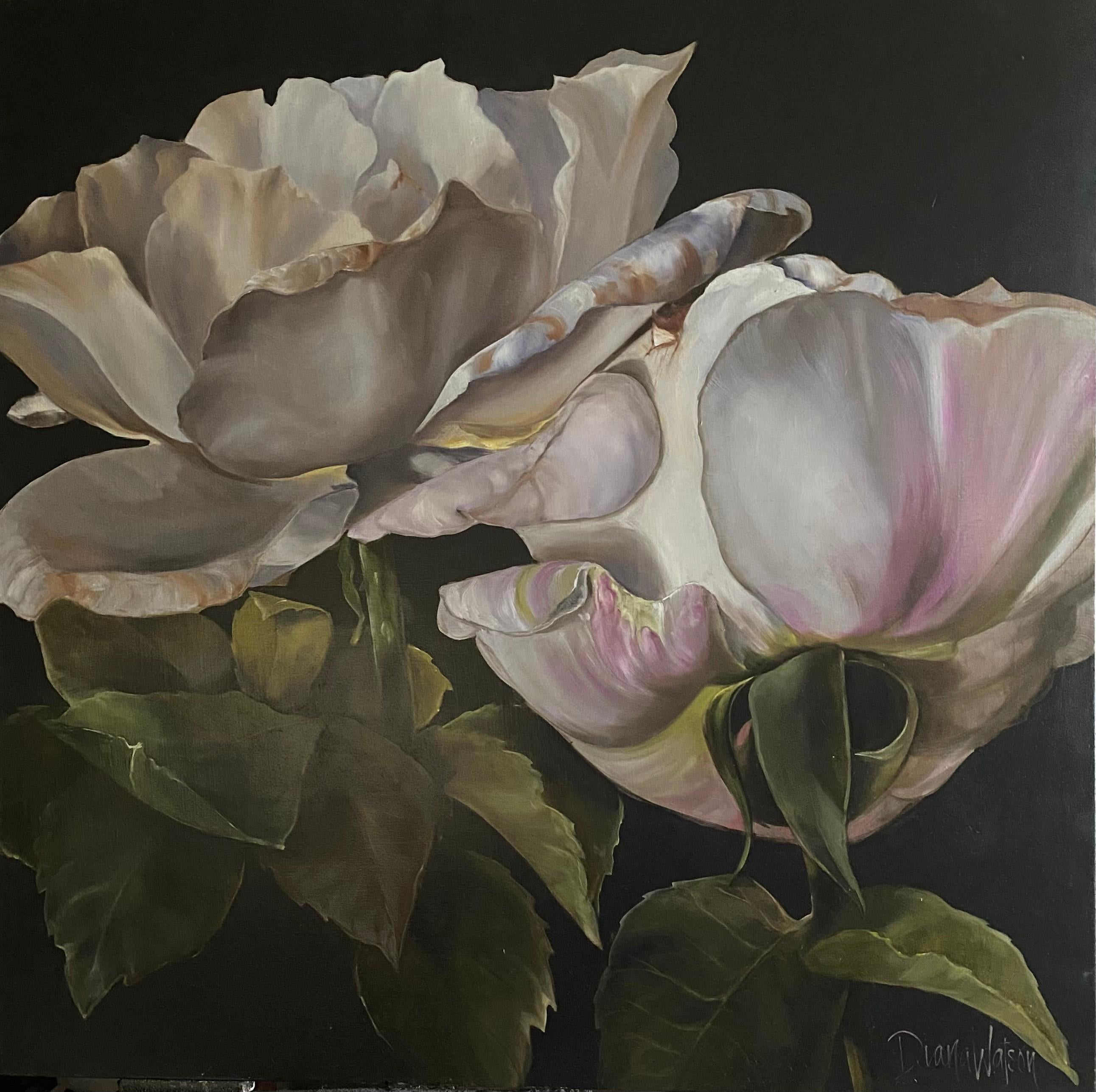 'Francesca Rose', 2020, Contemporary still-life on oil on linen