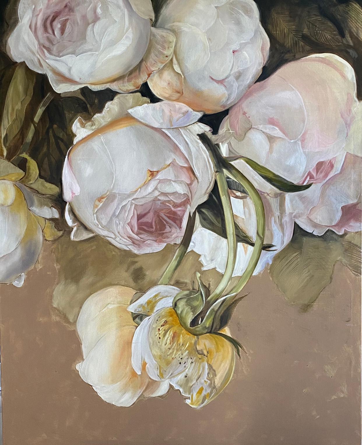 'Simonetta', 2020, Contemporary still life on oil on canvas