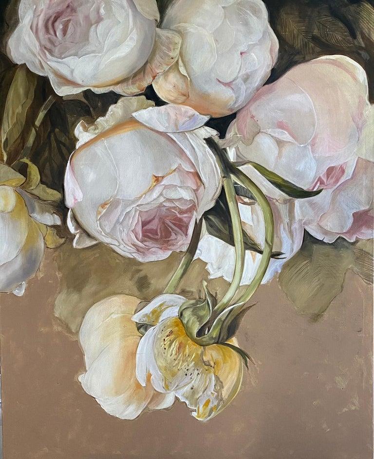 Diana Watson Figurative Painting - 'Simonetta', 2020, Contemporary still life on oil on canvas