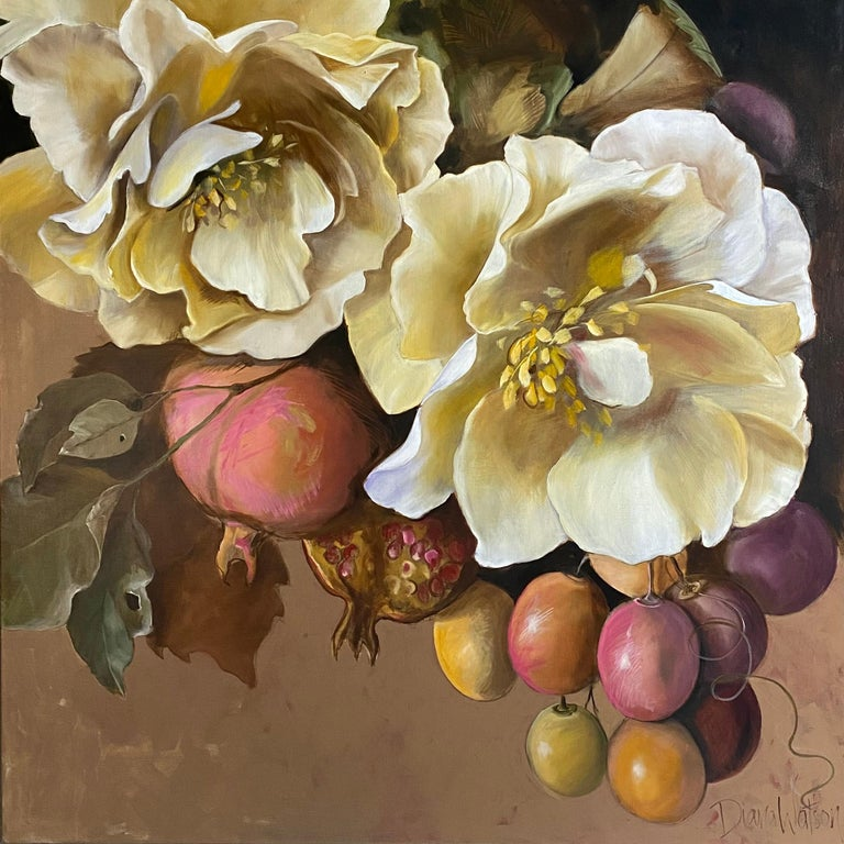 Diana Watson Figurative Painting - 'Sofia', 2020, Contemporary still life on oil on canvas