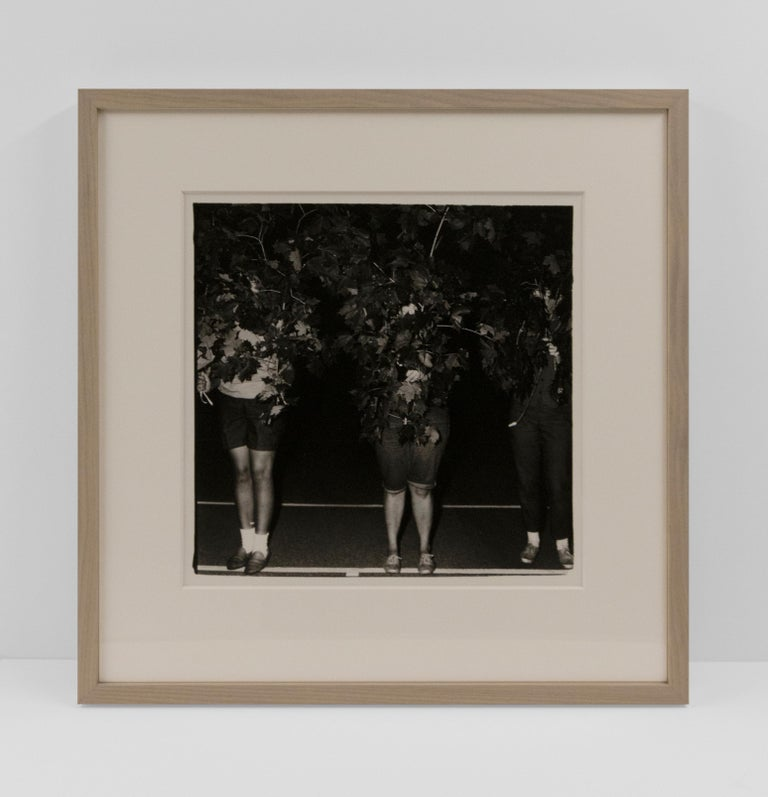 Camp Lakecrest campers as trees, Dutchess County, NY - Contemporary Photograph by Diane Arbus