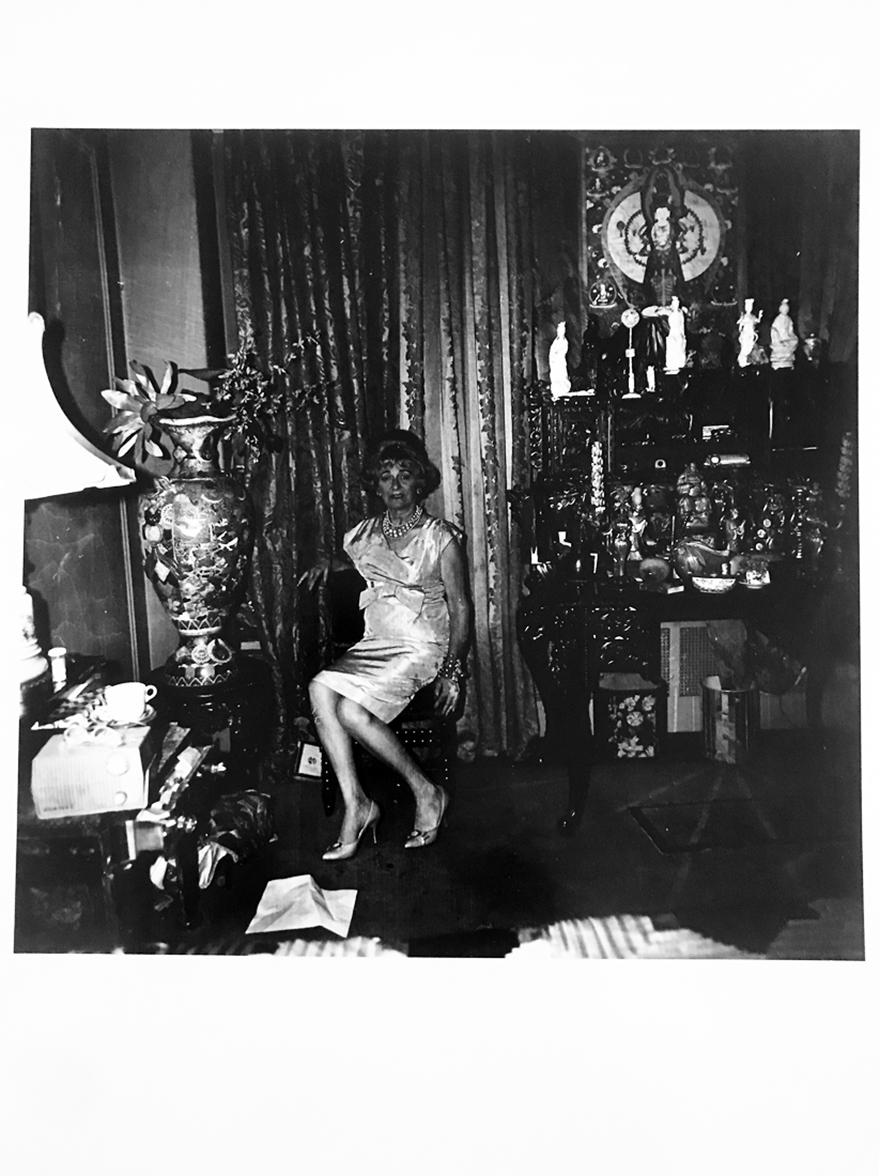 A Widow in Her Bedroom, 55th St, NY, Iconic Portrait Photography