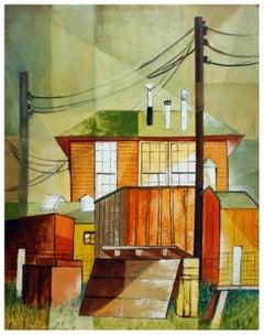 Geometric Houses - Urban Landscape Pacific Grove