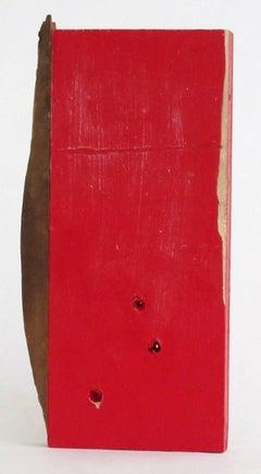 Diane Englander, Red and Wood II, 2015, Mixed Media, Wood