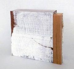 Diane Englander, White and Wood XVI, 2015, Wood, Mixed Media