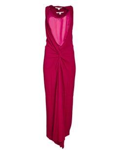 Diane von Furstenberg Red Gown Sz 4 NWT