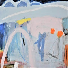 Diane Whalley, Defining the Moment, Original Abstract Painting, Affordable Art