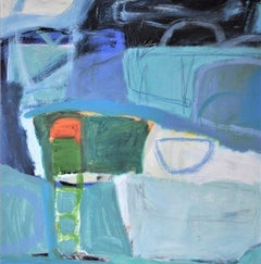 Diane Whalley, Go For It, Abstract Art, Affordable Art, Seascape Art