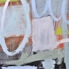 Diane Whalley, Singing Sands, Original Abstract Painting, Contemporary Art