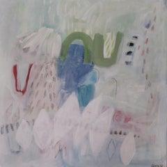 Flirtatious, Diane Whalley, Original Abstract Art, Pastel Painting, Bright Art