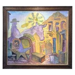 Diane Woodruff '1940-1993' Painting