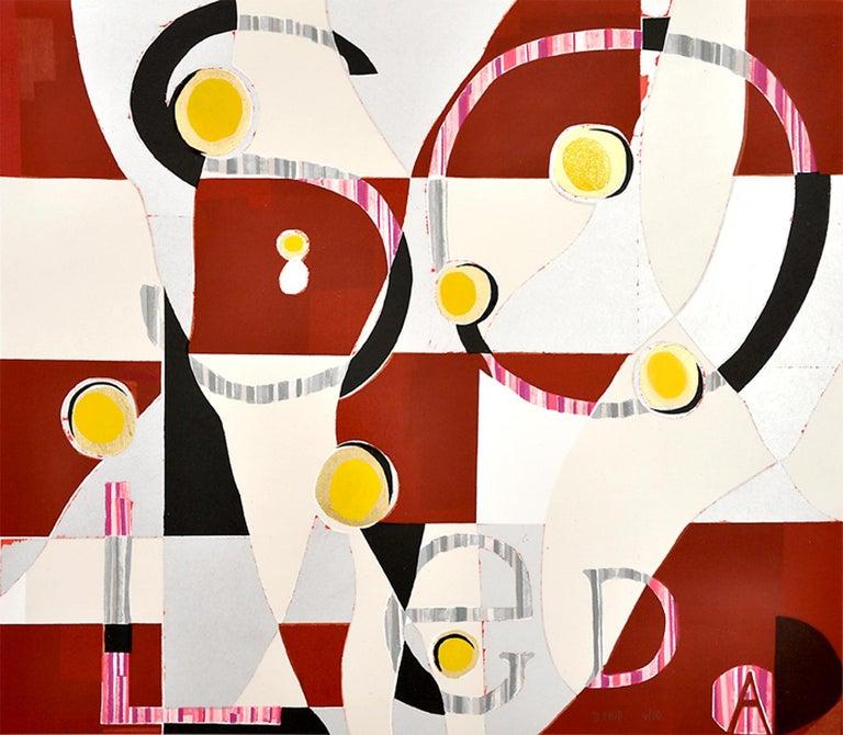 Dianna Frid Abstract Print - Soledad