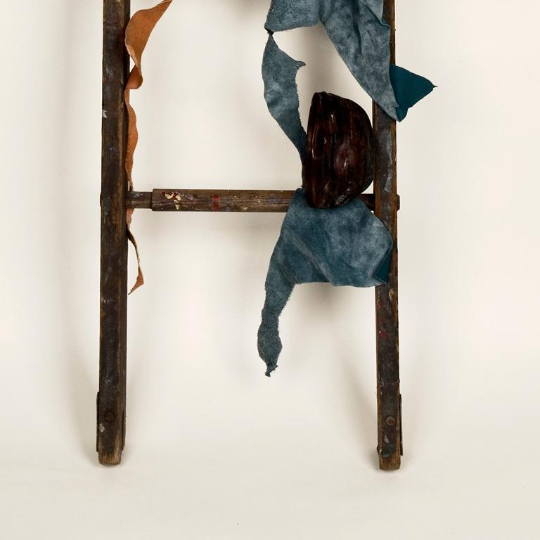Double Hommage - Brown Abstract Sculpture by Dianne Baker