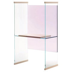 Diapositive High Desk, by Ronan & Erwan Bouroullec for Glas Italia