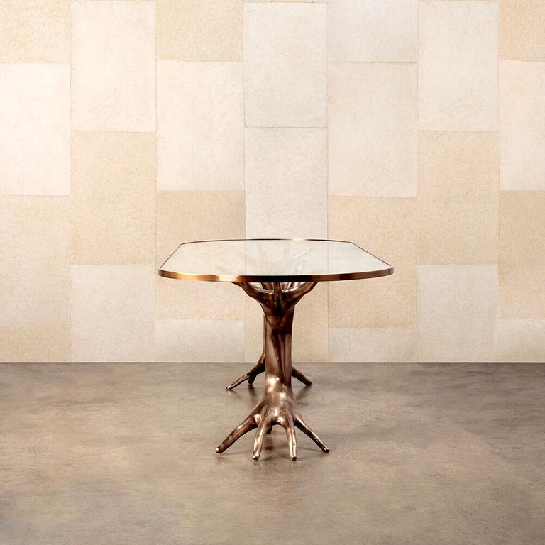 Dichotomy Racetrack Table by Kelly Wearstler In New Condition For Sale In West Hollywood, CA