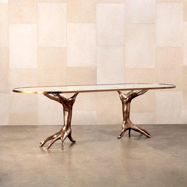 Contemporary Dichotomy Racetrack Table by Kelly Wearstler For Sale