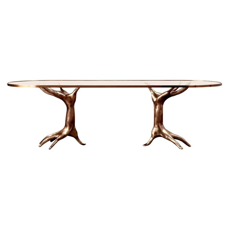 Dichotomy Racetrack Table by Kelly Wearstler For Sale