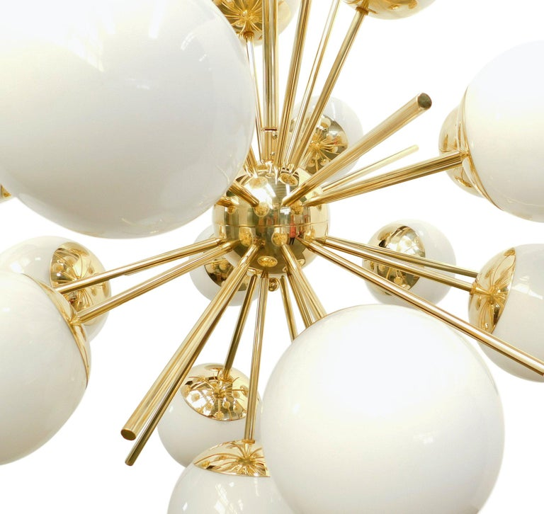 Italian Diciotto Sputnik Chandelier For Sale