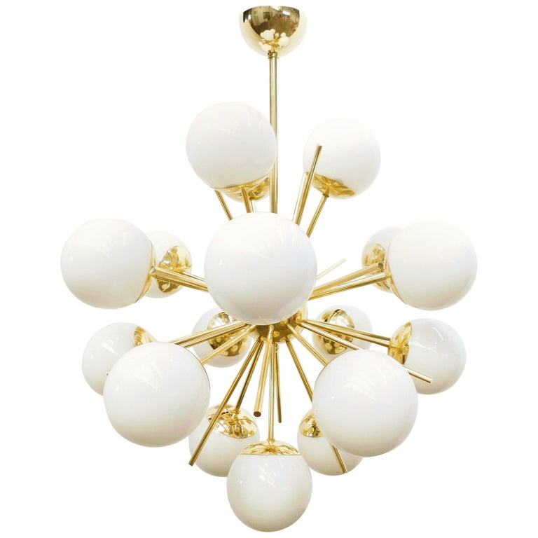 Diciotto Sputnik Chandelier For Sale