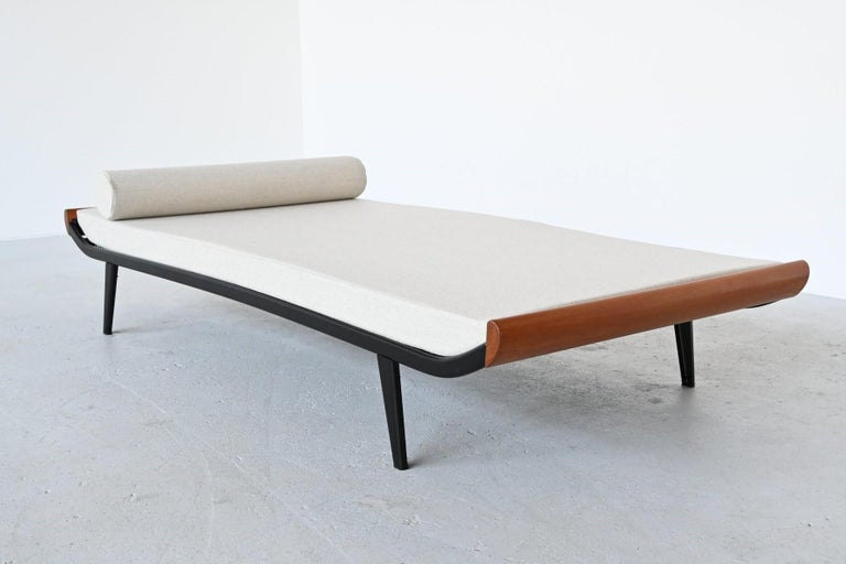 Dick Cordemeijer Model Cleopatra Daybed Auping The Netherlands, 1954 In Good Condition For Sale In Etten-Leur, NL