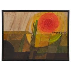 Dick Sutphen Oil Painting, 1968