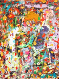 """""""Untitled,"""" Oil on Canvas - Abstract painting"""