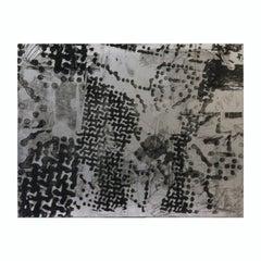 Abstract Geometric Modern Metal Etching