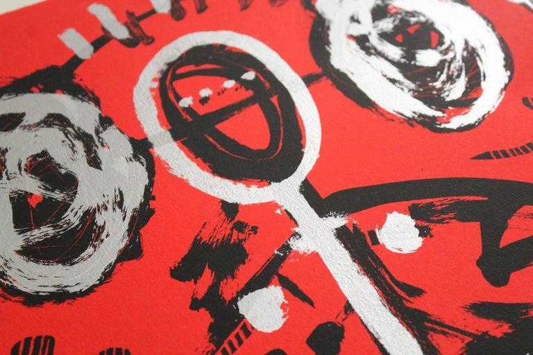 La menona (Mexican contemporary art) - Print by Didier Mayés