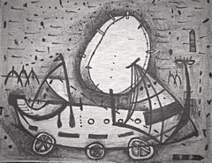 The little sailboat (Mexican contemporary art)
