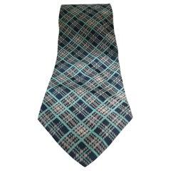 Dido's multicoloured silk tie