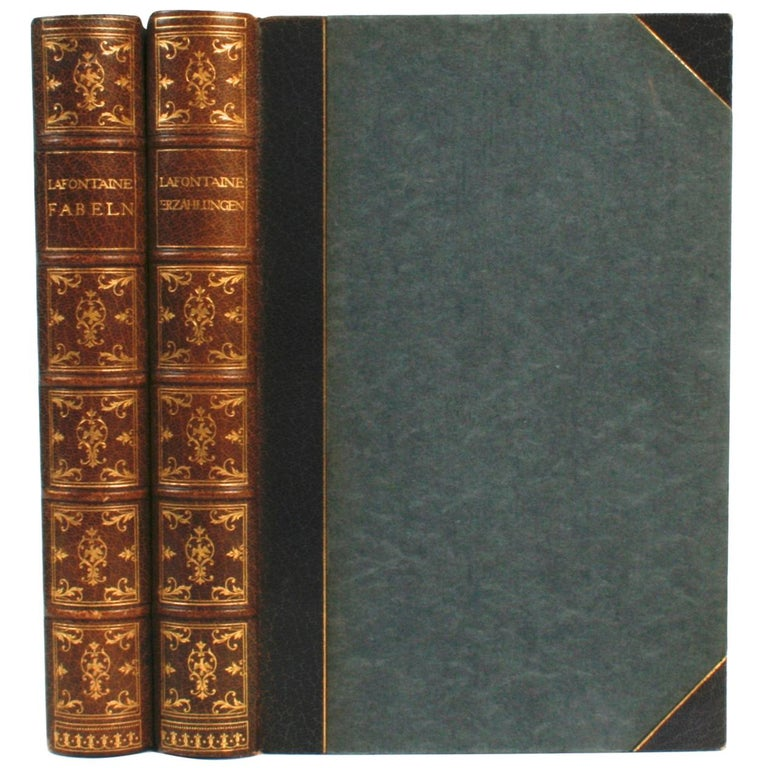 Die Fabeln des Jean de La Fontaine and Die Erzählungen des Jean de La Fontaine For Sale