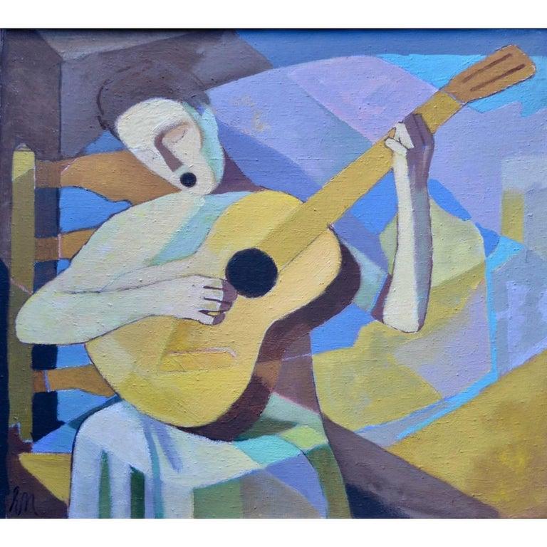 """Die Singende Lautenspielerin"" Singing Lutenist For Sale"