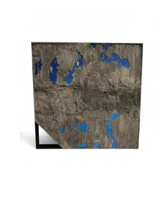 """Cabo"" by Diego Anaya, blue and concrete sculptural art piece - 1stdibs New York"