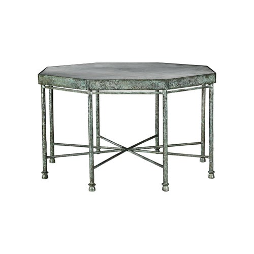 Diego Giacometti for Givenchy Inspired, Bronze, Handsculpted, Octagonal Table