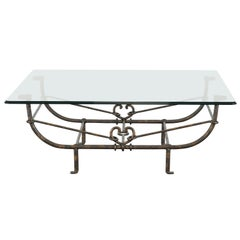 Diego Giacometti Style Coffee Table, 1980s