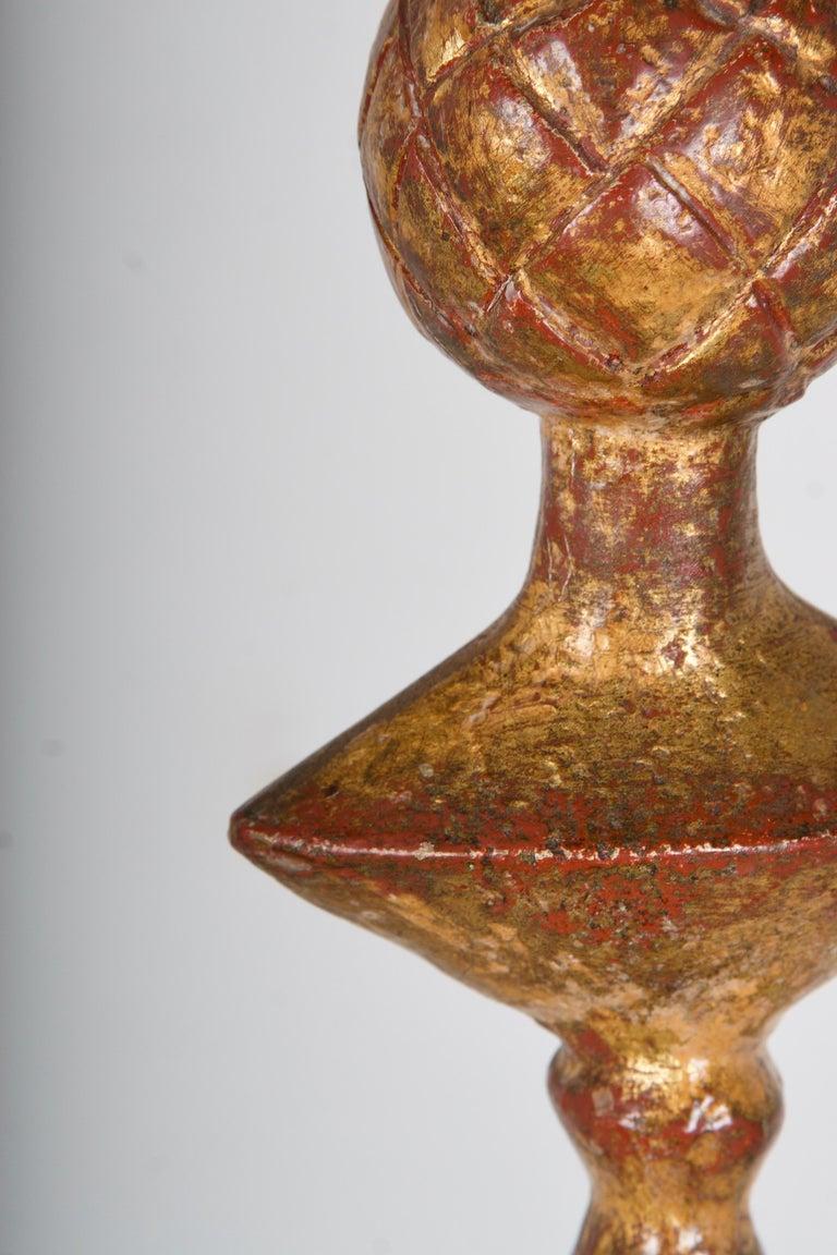 Gilded Bronze Floor Lamp For Sale 1