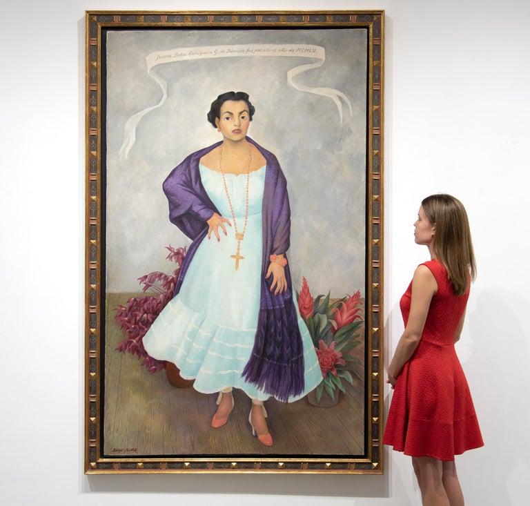 Portrait of Enriqueta G. Dávila For Sale 3