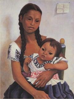 1997 Diego Rivera 'Delfina Flores and Her Niece Modesta' Modernism USA Offset